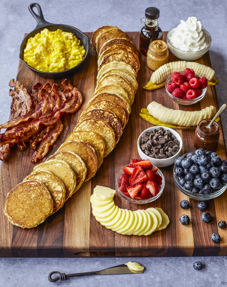 The Latest Trend In Charcuterie Boards? Pancakes, of Course