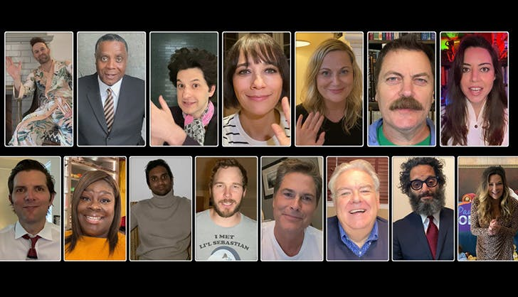 parks and recreation special reunion