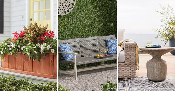 How to Create an Outdoor Living Room With Just 6 Pieces