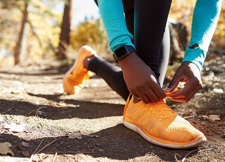 running sneakers