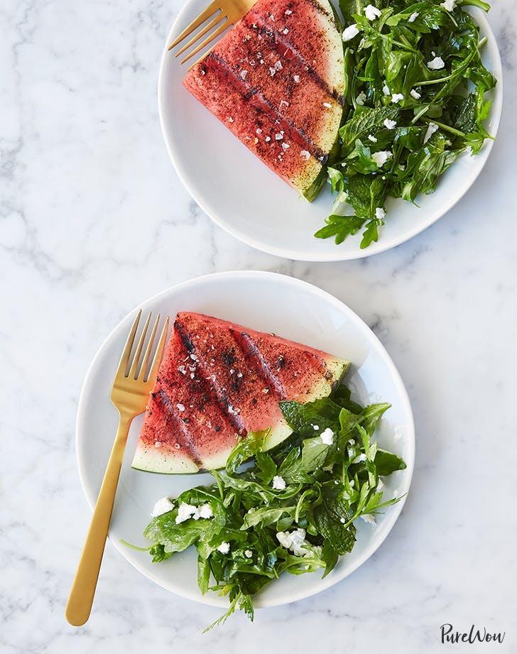 watermelon recipes Grilled Watermelon Steaks Recipe