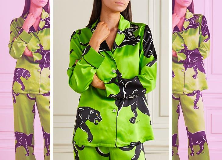 woman in pajamas 728x524