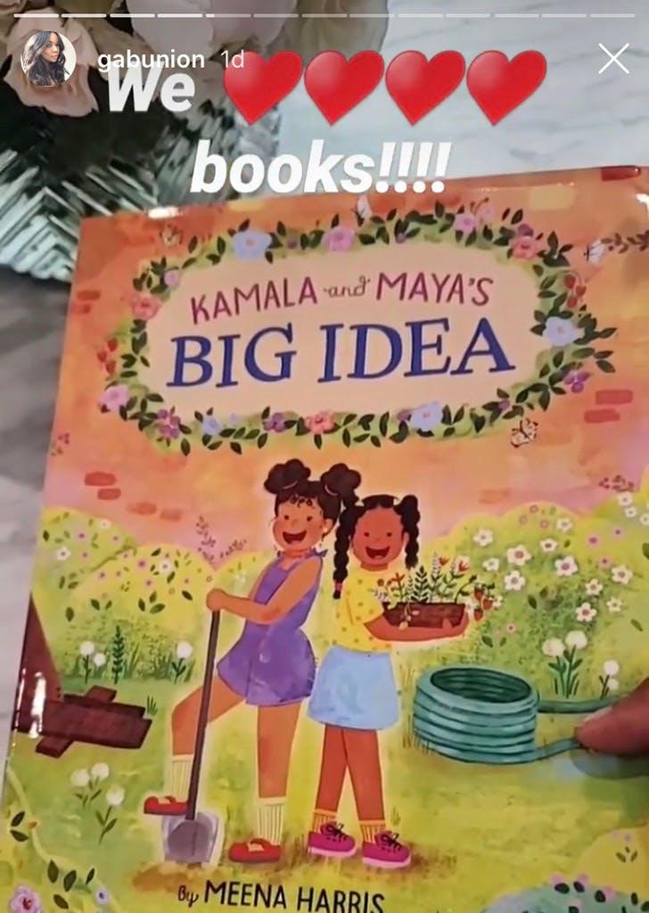 Gabrielle Union Kamala and Mayas Big Idea