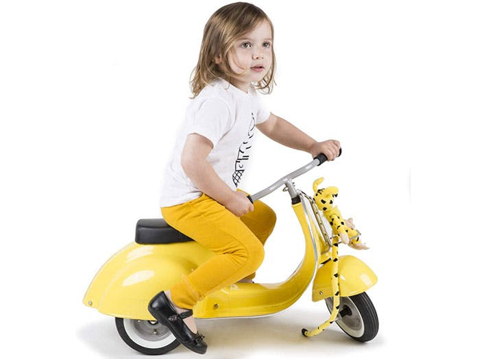 My Kid Is Obsessed with This Toy Vespa (Almost as Much as I Am)