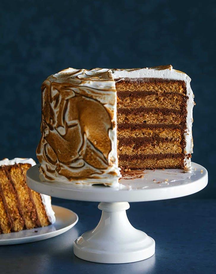 birthday cake recipes six layer s mores cake