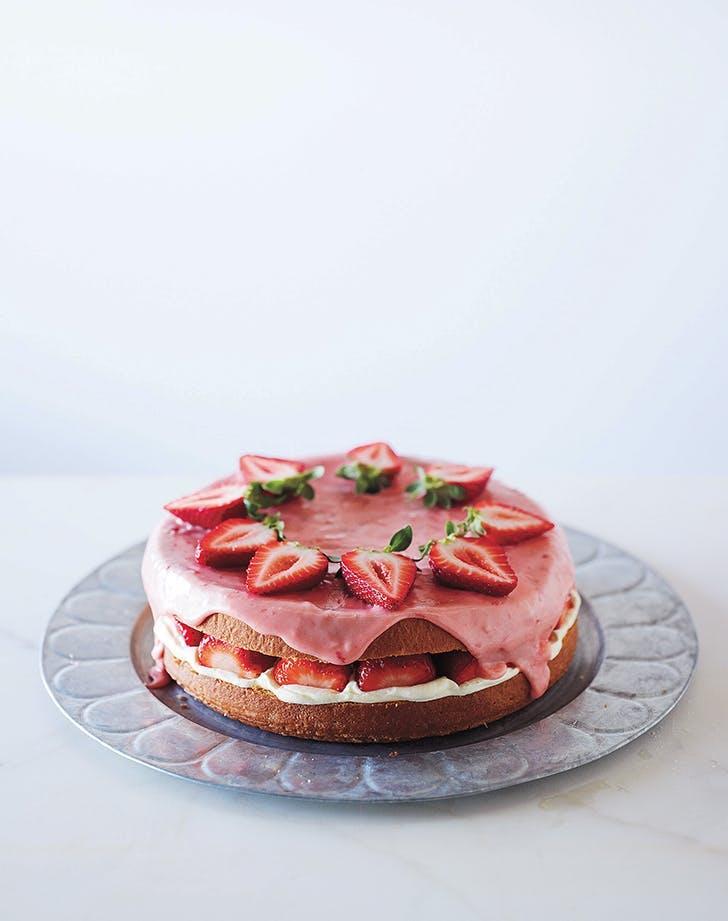 birthday cake recipes strawberry sponge cake recipe 9211