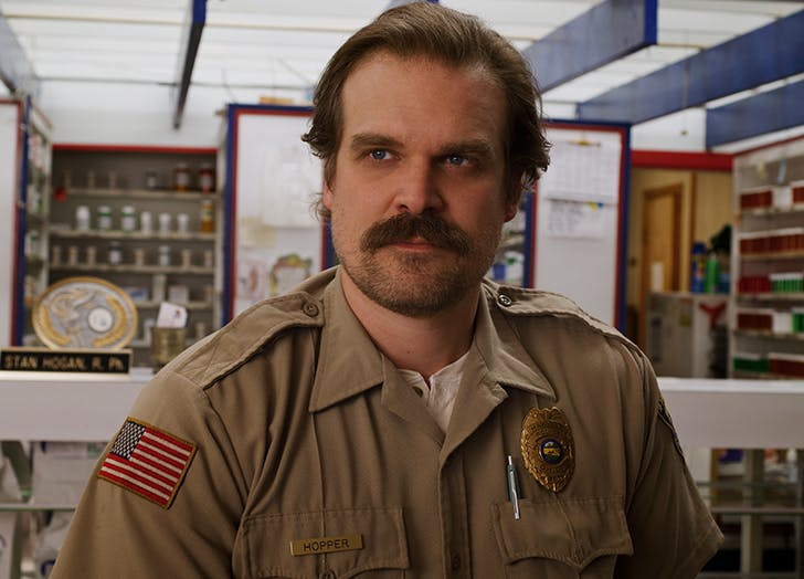 David Harbour Teases 'Darker' Story Line for Hopper in 'Stranger Things' Season 4