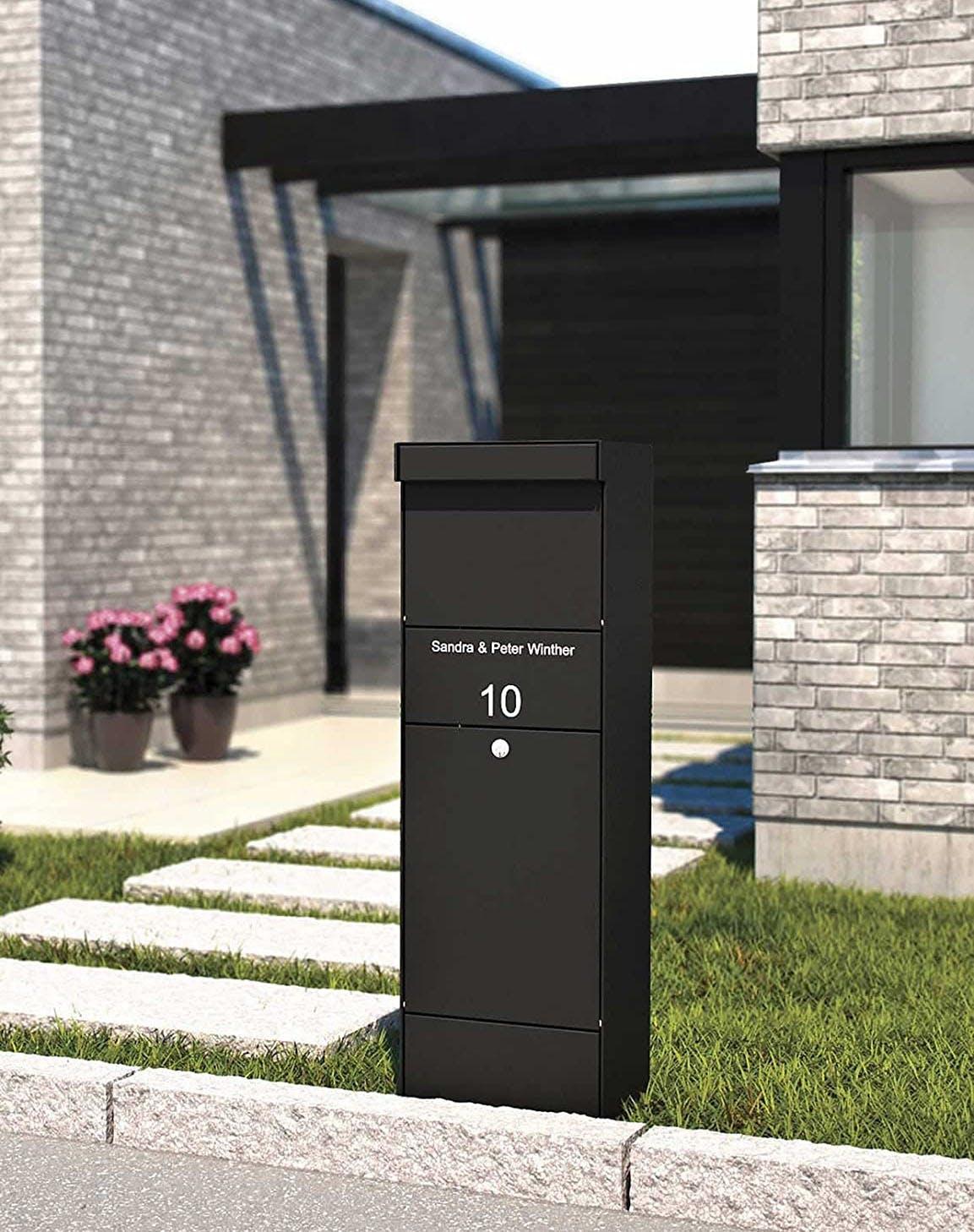 design after covid mailbox locker