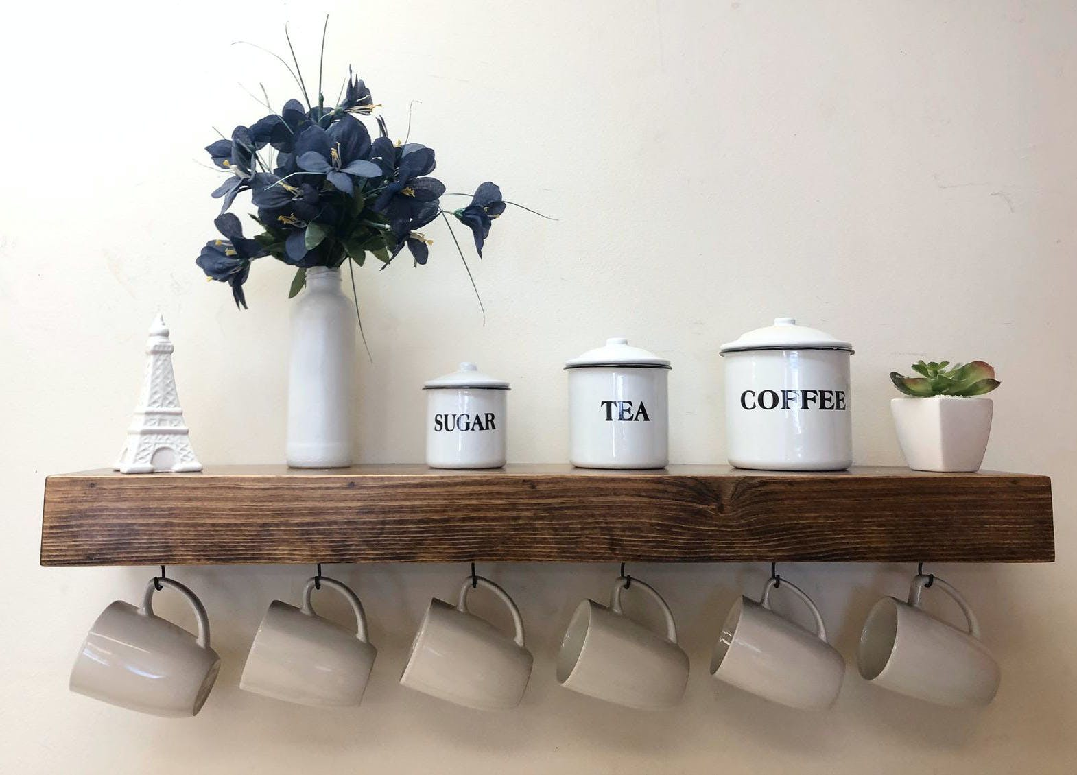 floating shelves ideas coffee station