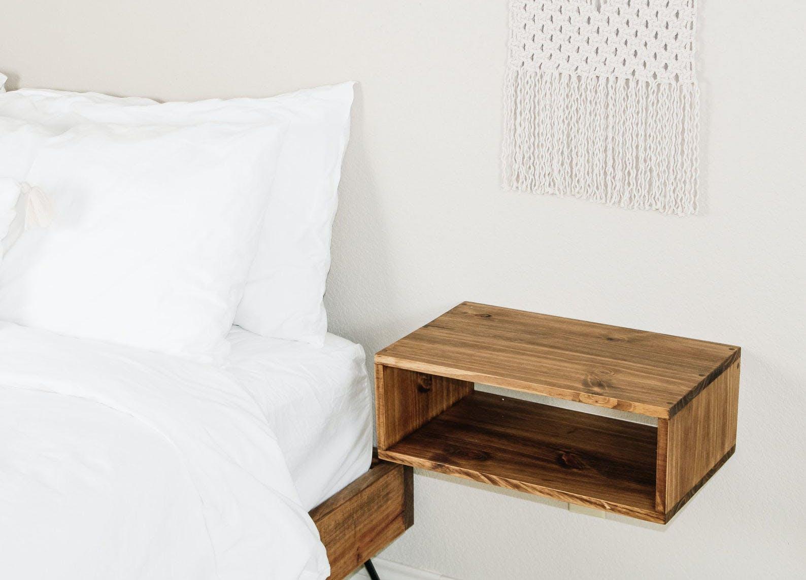 floating shelves ideas nightstand