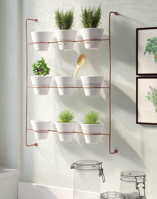 floating shelves ideas plants