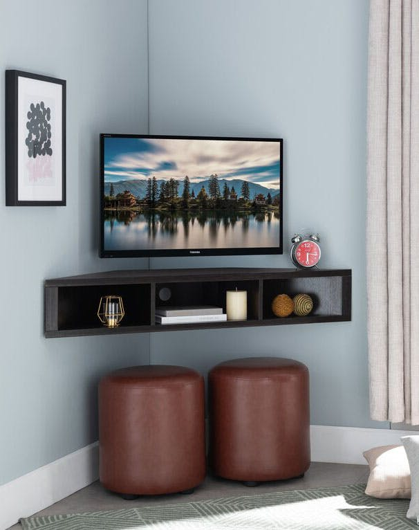 floating shelves ideas tv stand