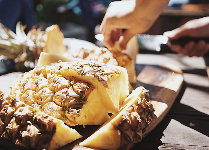 How to Pick a Pineapple That's Ripe and Ready to Eat