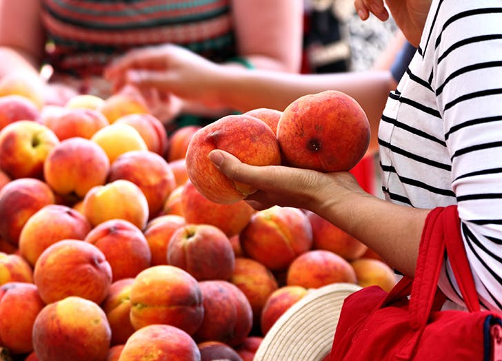 How to Tell If a Peach Is Ripe, Because the Squeeze Test Doesnt Cut It