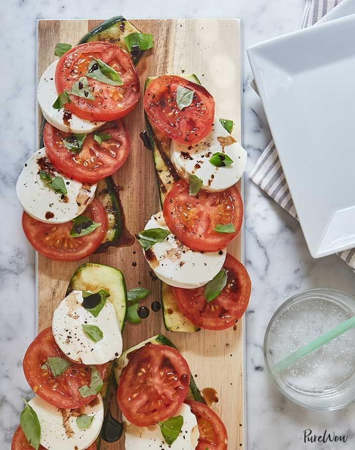 july 4th recipes   caprese salad