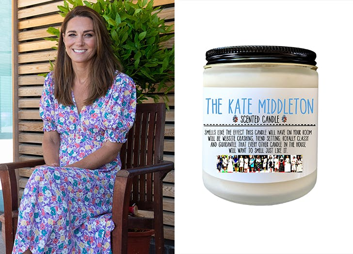 You Can Now Buy a Kate Middleton-Scented Candle and, Wait, Say That Again, Please?