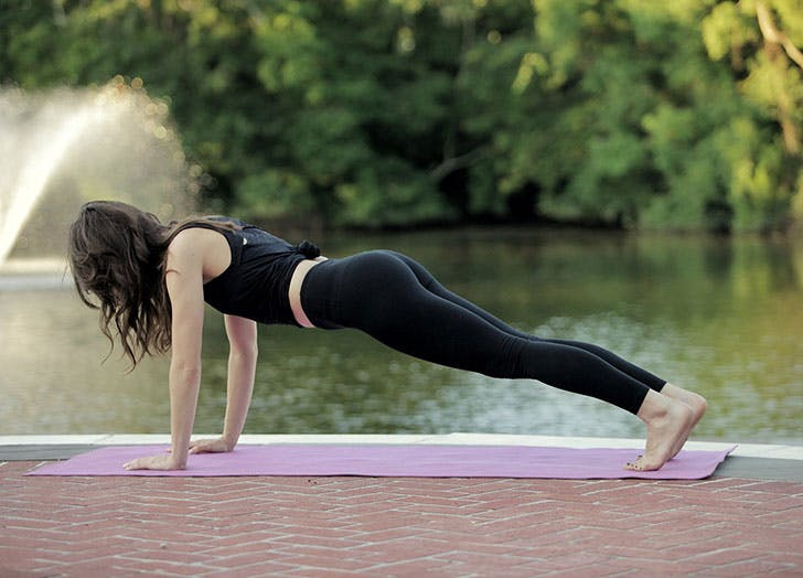 These Leggings Have Built-In Insect Repellant, So You Can Work Out Outside Without Worrying About Bug Bites