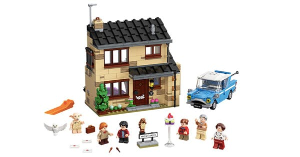 Lego Is Releasing 6 New 'Harry Potter' Sets (Including Privet Drive)