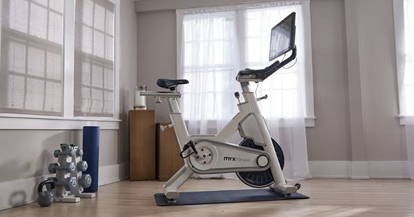 You Can Create an Entire At-Home Gym With Myx's Spin Bike & Workout Equipment Bundle