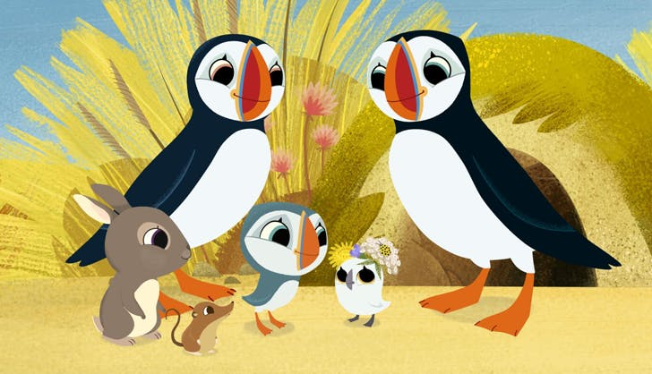 netflix shows for kids Puffin Rock