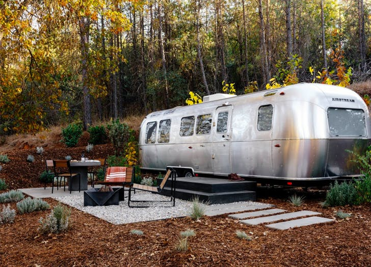 places to stay in an airstream yosemite