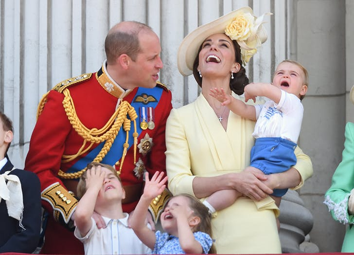 Prince George & Prince Louis Have a Sibling Rivalry Going On, According to Kate Middleton