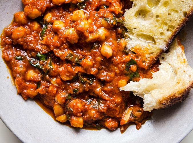 tomato sauce meal