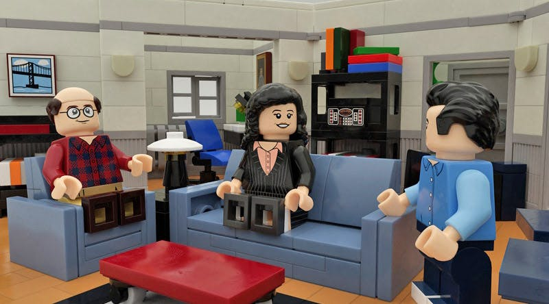 Seinfeld Legos Are Happening (so Serenity Now, Everyone)