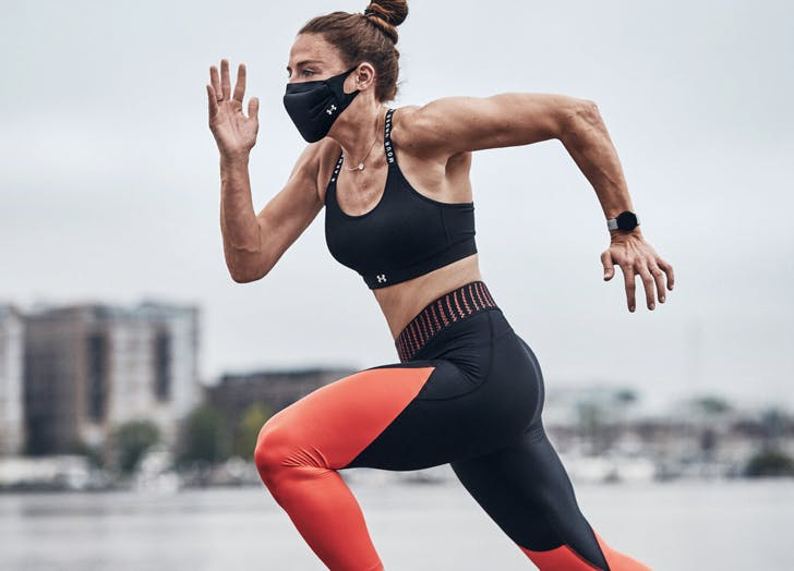 Under Armour Just Released a Face Mask Thats Made For Running & Working Out