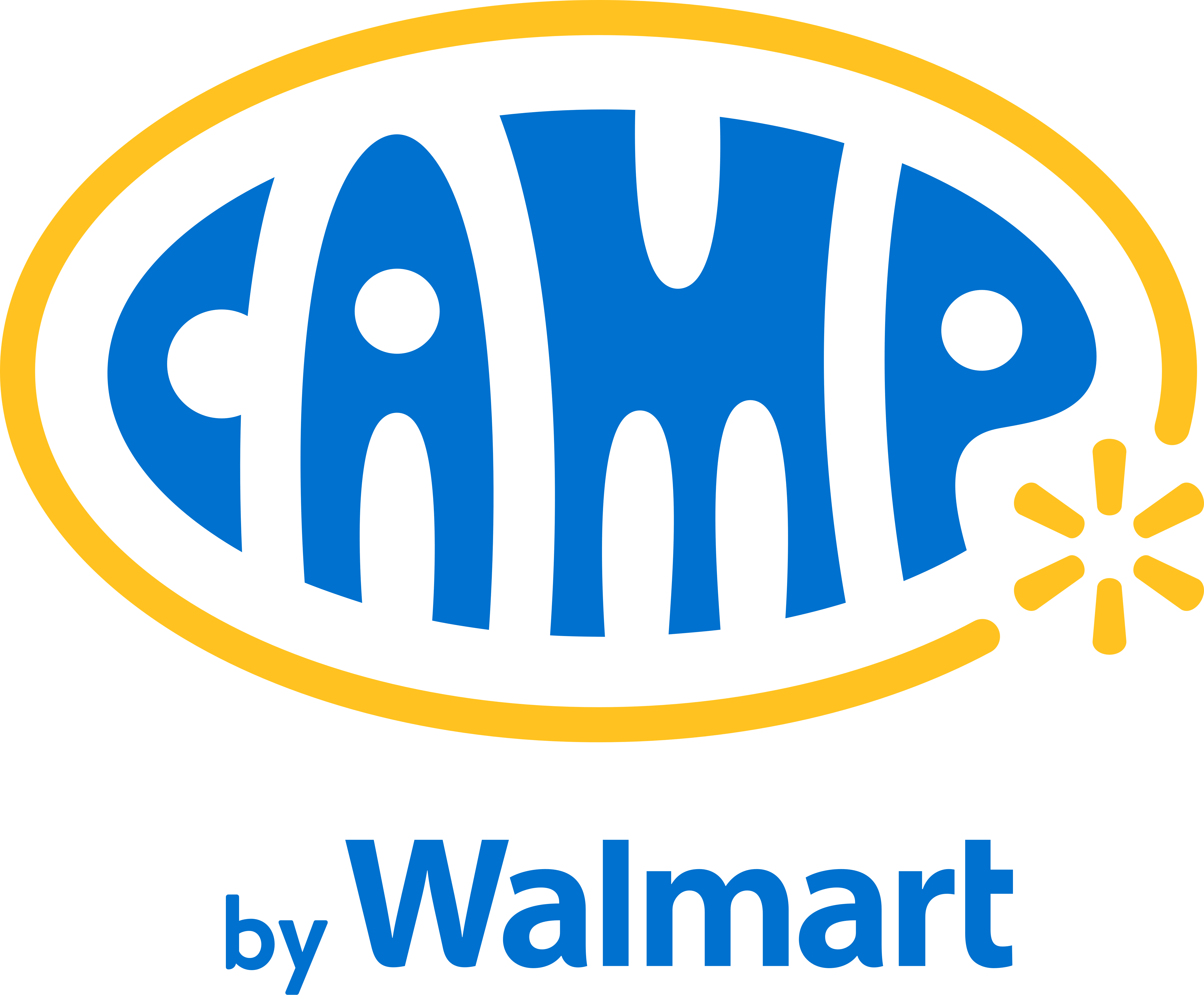 Camp By Walmart Logo