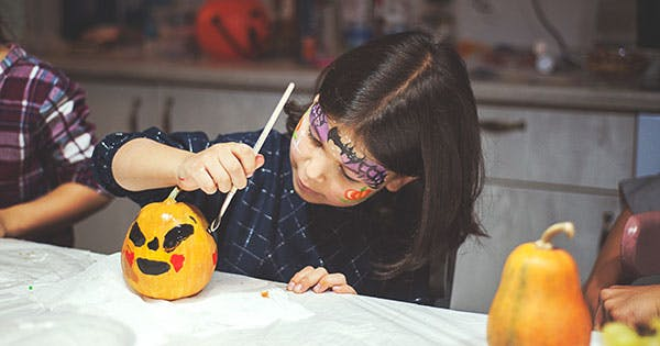 25 Halloween Crafts for Kids to Your Keep Little Monsters Occupied