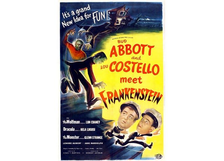 halloween movies for kids abbott and costello meet frankenstein