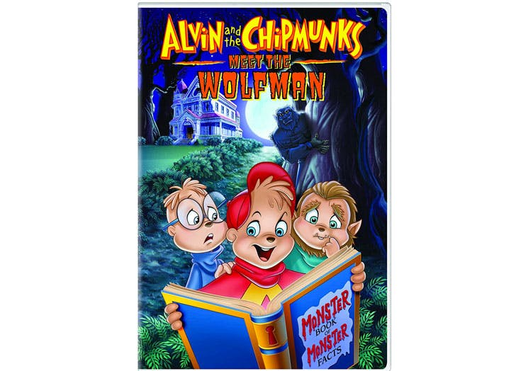 halloween movies for kids alvin and the chipmunks meet the wolfman