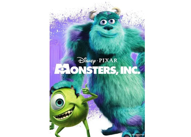 halloween movies for kids monsters inc