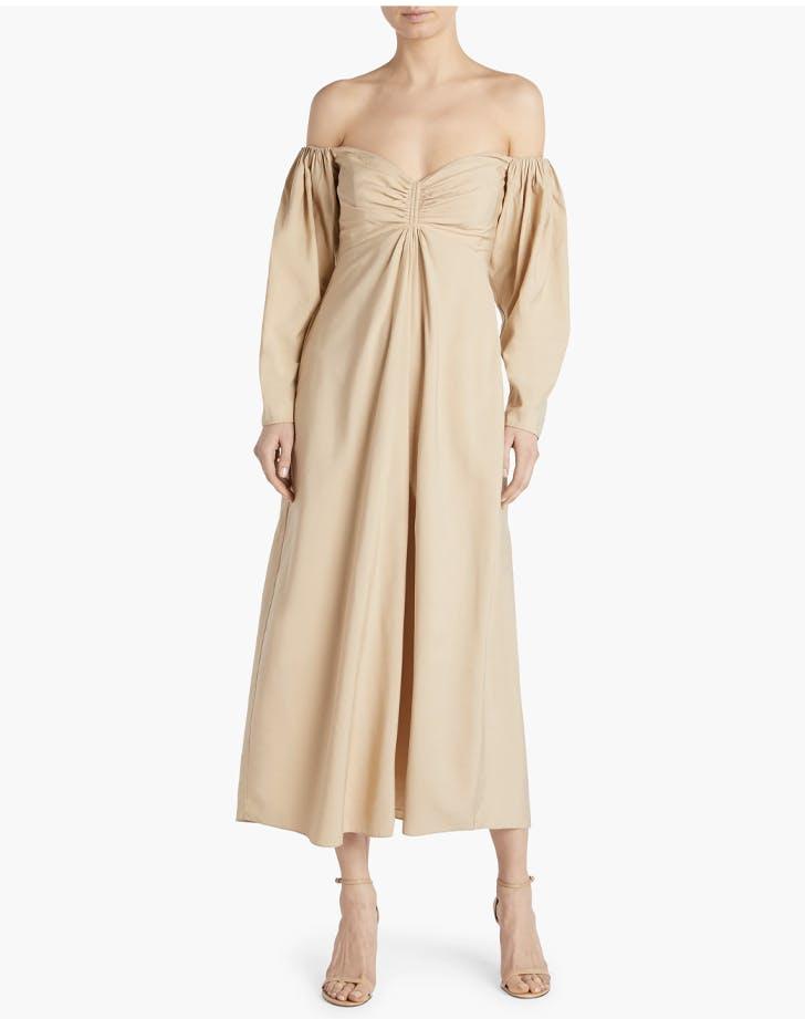 alc off the shoulder dress1