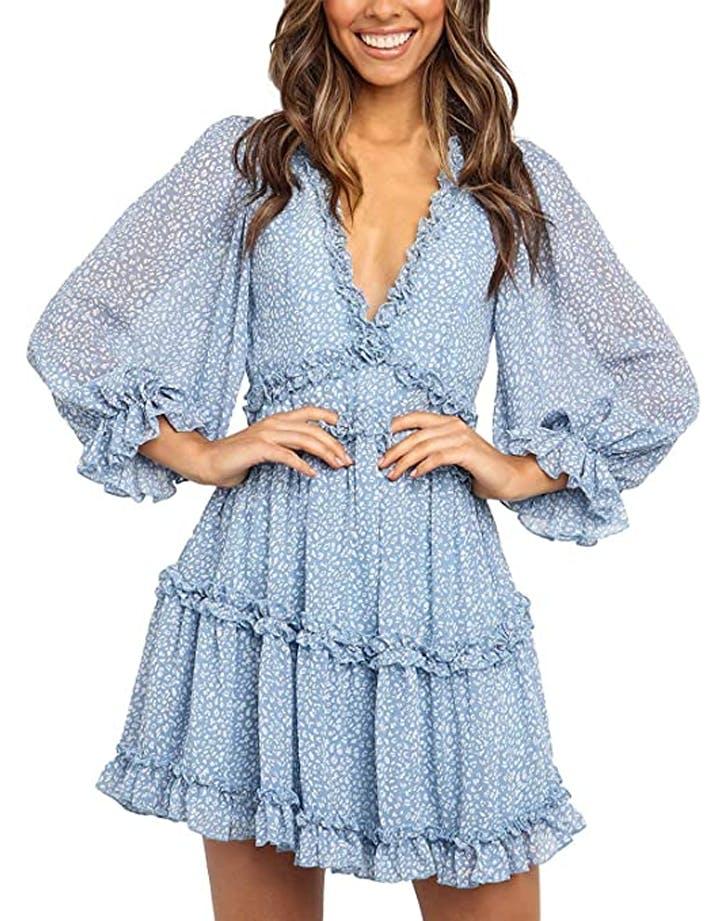 amazon open back dress