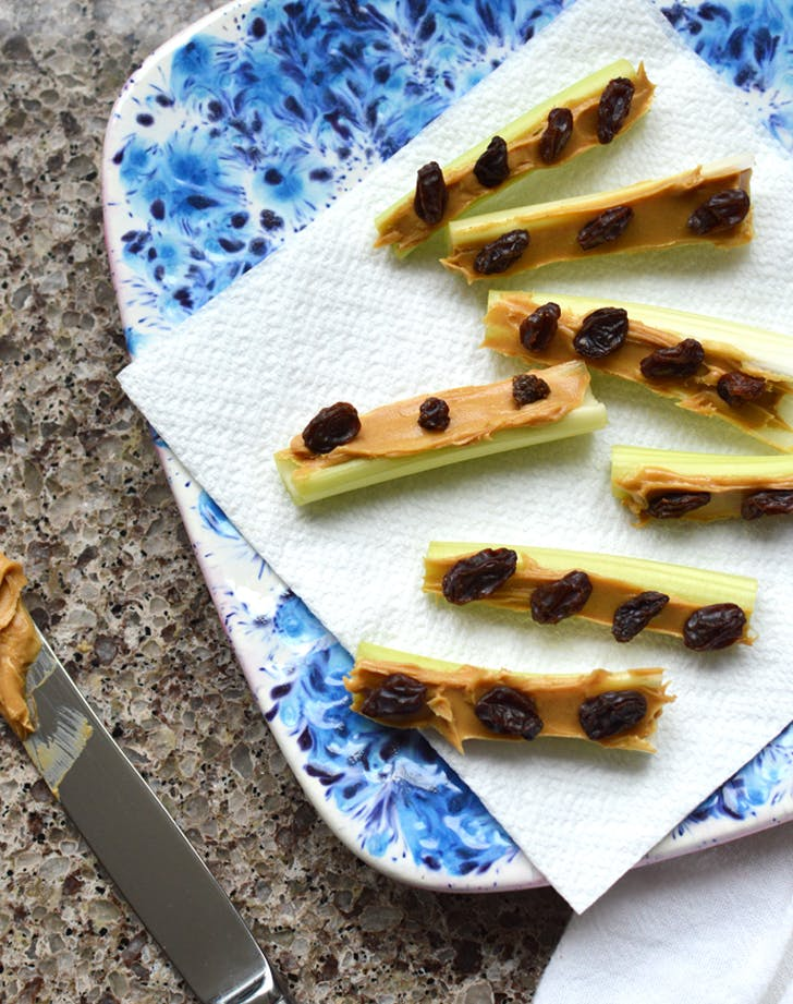 Ants On A Log Recipe Purewow