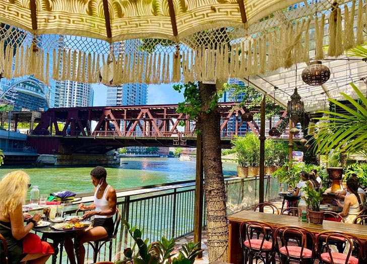 best patio restaurants outdoor dining chicago cat