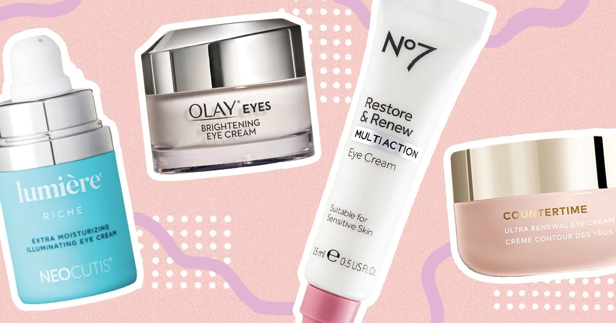 The Best Anti-Aging Eye Cream for Women in Their 50s, From Drugstore to Luxe