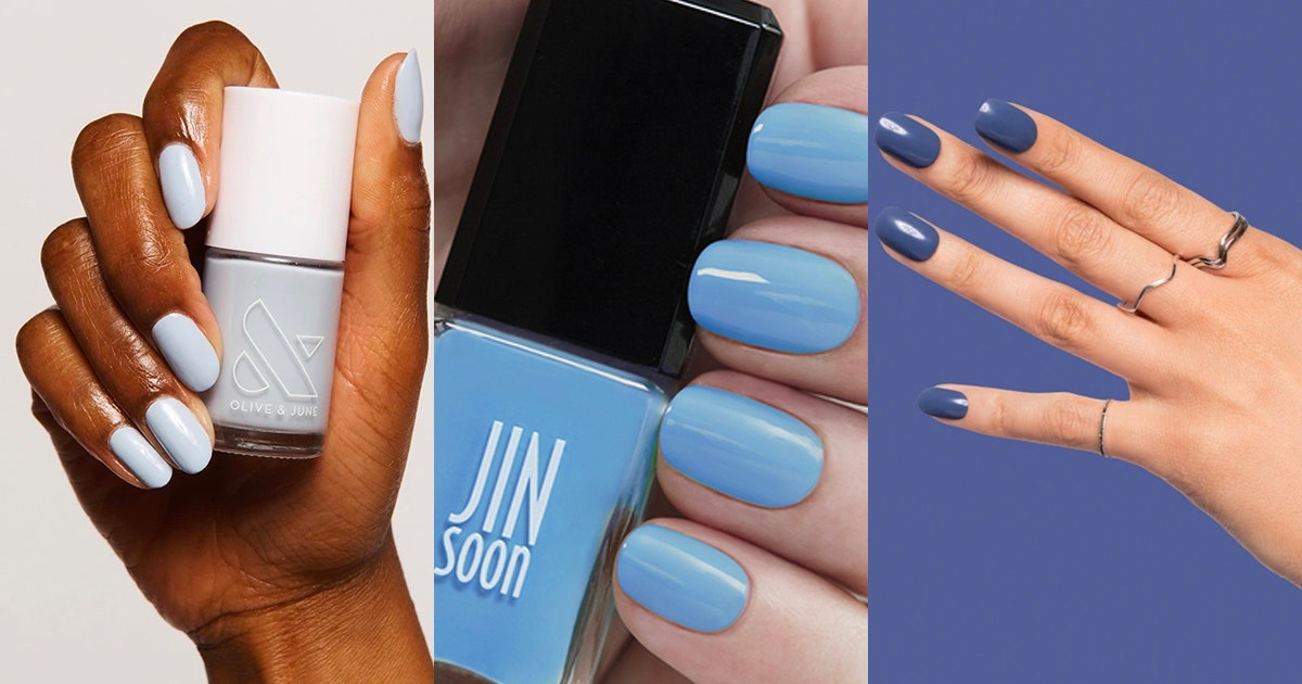The Best Blue Nail Polish In Every Shade Purewow