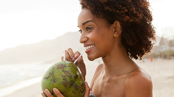 Is Coconut Milk Good for Your Hair? Because These Strands Are Feeling a Bit Dry...