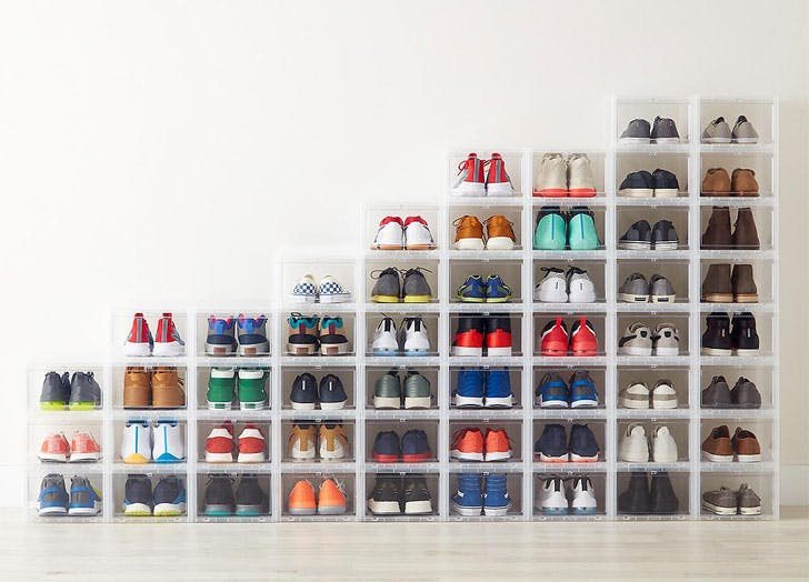container store top products shoe box