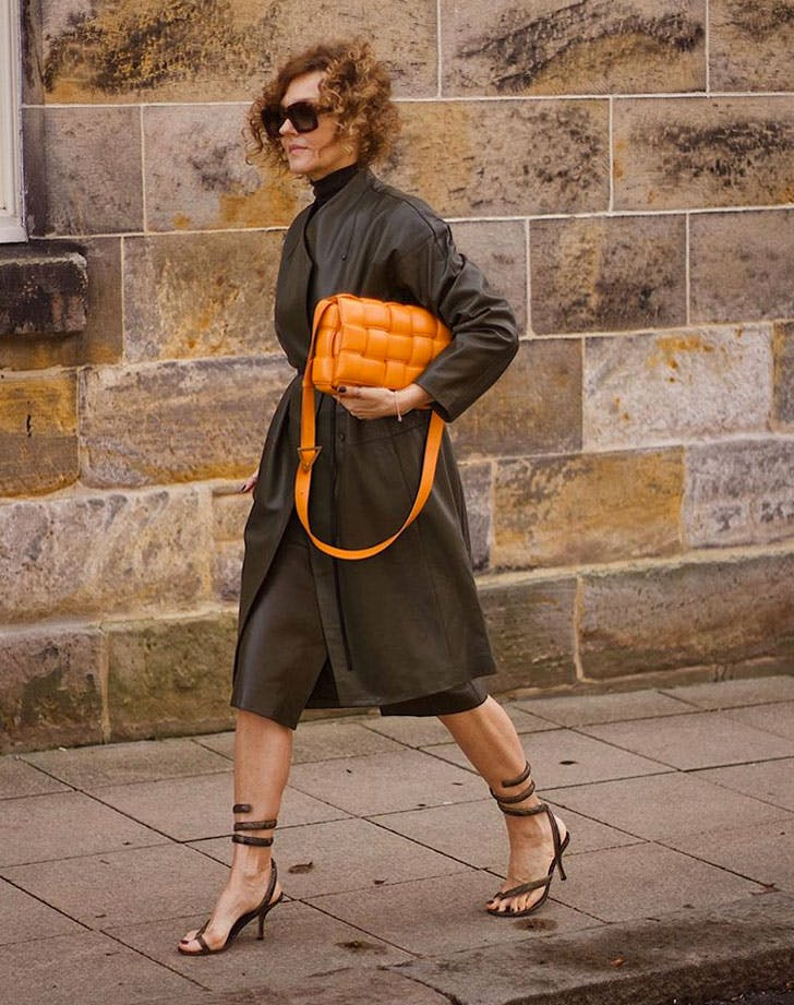 fall trends over 40 leather outerwear
