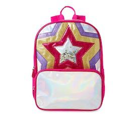girls star backpack