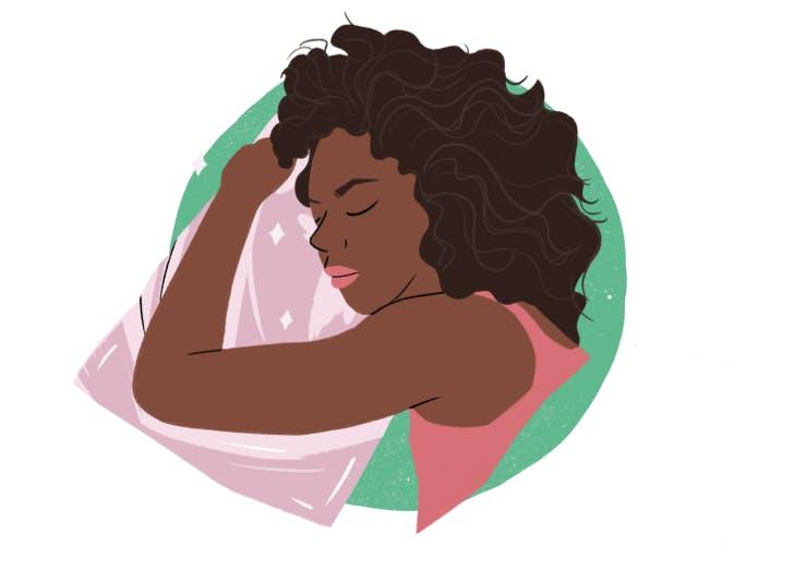 How To Sleep With Curly Hair Purewow