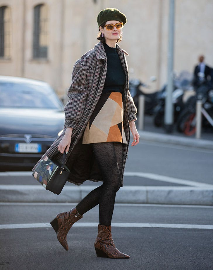 low wedge boots