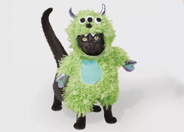 monster cat halloween costume