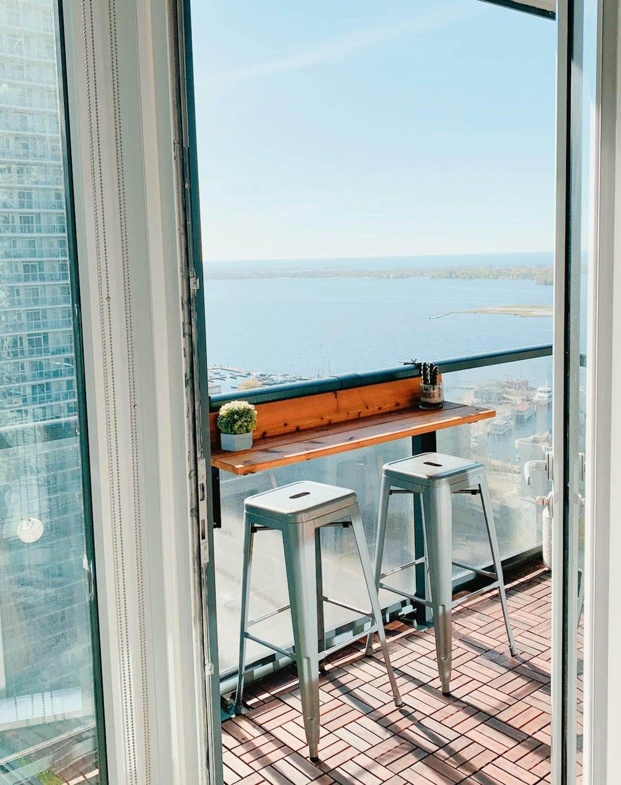 outdoor bar ideas balcony