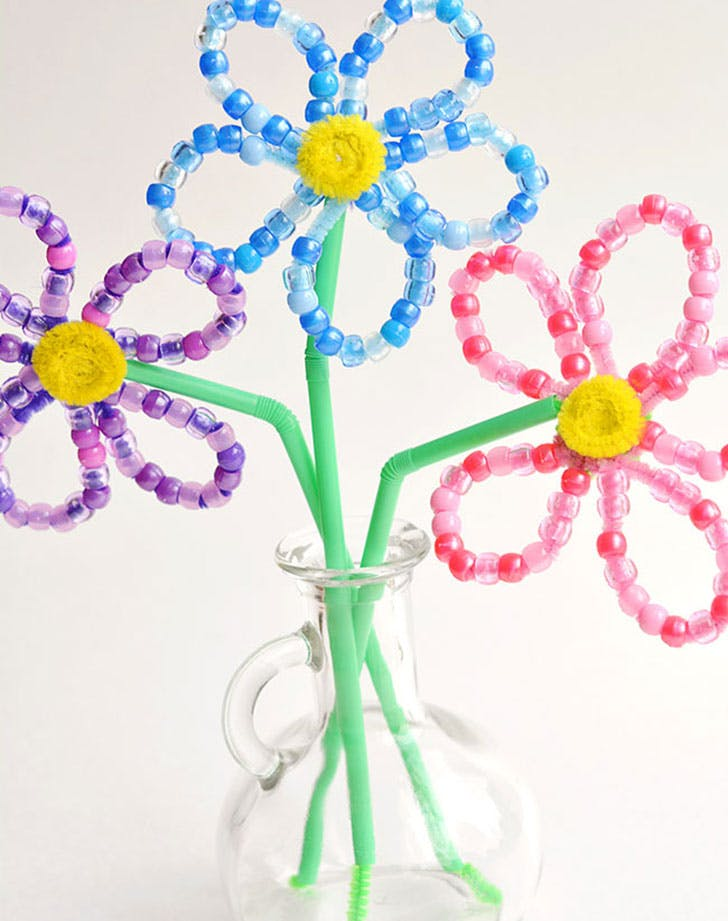 pipe cleaner crafts flower