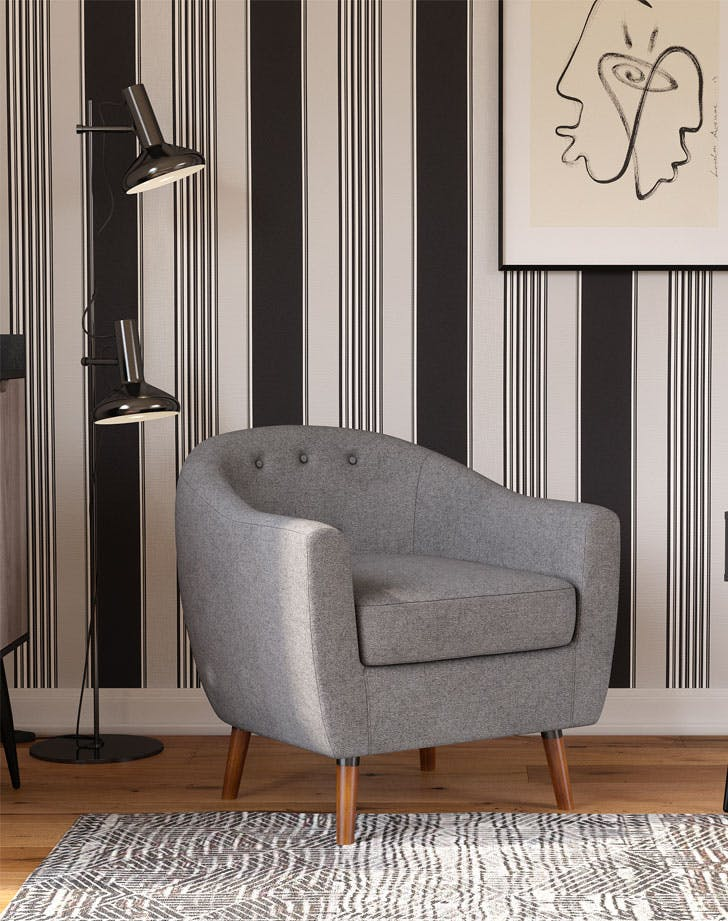 queer eye home collection brie accent chair